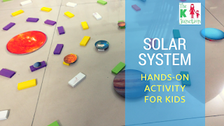 Solar System – Sun, Planets & Orbits – Hands-On Activity For Kids (VLOG)
