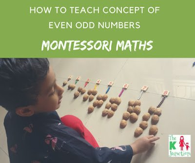 How To Teach Even & Odd Numbers Using Counters – Montessori Math