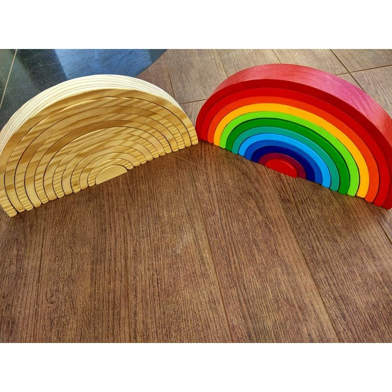 Things To Consider Before Buying Waldorf Inspired Rainbow Stacker Toy